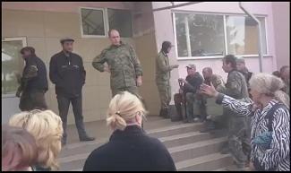 Ждановка. Народный суд над стукачами укрофашистов